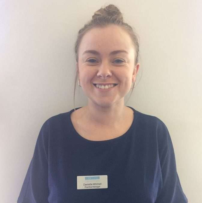 Danielle Mitchell – Practice Manager Hastings